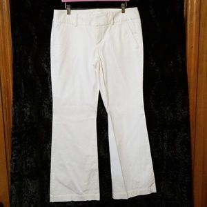 Express winter white trousers